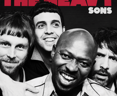 Rockers, The Heavy, have released their new album, Sons, out now