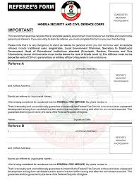 Civil defence guarantor form