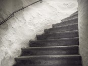 See the whole staircase