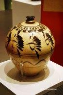 Vas din portelan cu motiv floral Dinastia Yuan - 1271-1368
