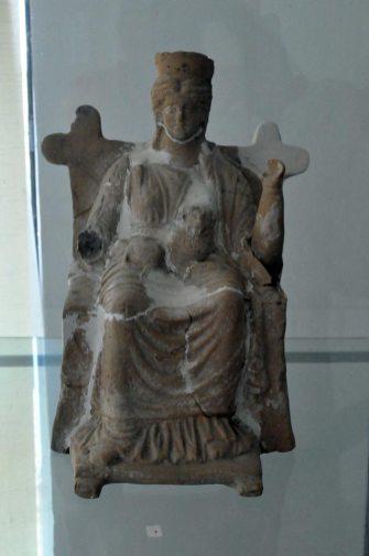 Histria. Muzeu. Cetate. Sanctuar elenistic de la Nuntasi. Zeita Cybele