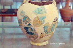 Histria. Muzeu. Cetate. Vas de faianta egiptean din perioada elenistica