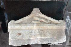 Histria. Muzeu. Cetate. Decret fragmentar cu reprezentarea stemei Histriei