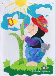 cartita decupaj Figurine din hartie, modele de primavara si de Pasti, Editura Casa