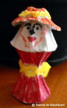 Eduard F., Craiova Doamna cu pălărie
