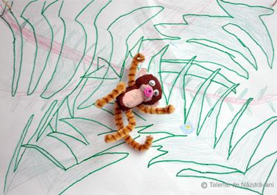 Maimuță din dop de plută