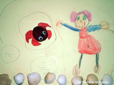 Roxana Maria V ., Slobozia, 4 ani Dansez cu crabul