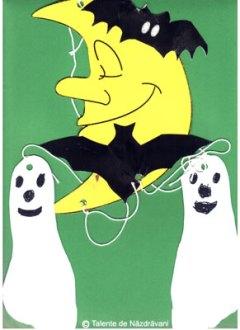 Fantome decupate după amprenta piciorului