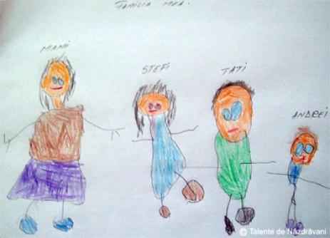 Desen: familia mea