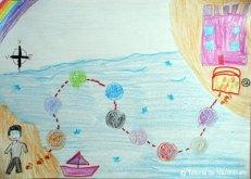 Flavia T., Seini, 6 ani