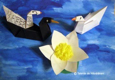 Păsări călătoare. Origami