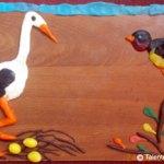 Păsări călătoare. Modelaj
