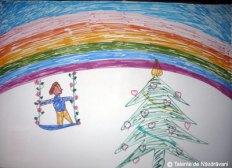 """Mihai B., Amarastii de Jos, 4 ani """"Buon natale e tanta felicita alla mia mamma e il mio papa."""""""