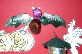 Liliac confecționat din castane