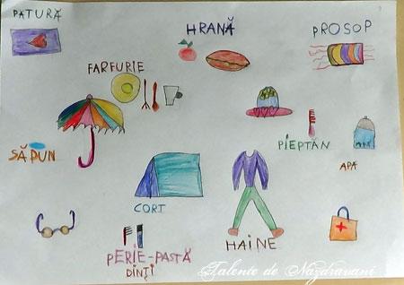 Desen - lista de vacanță
