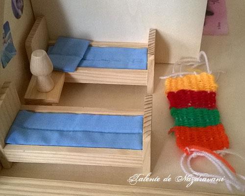 Covorașe țesute de copii
