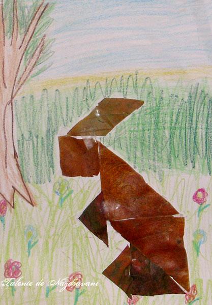 Maria Ruxandra F., 8 ani, clasa a II-a, Bucuresti