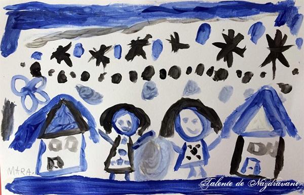 Mara I., Snagov, 6 ani