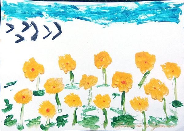 Sofia Ana Maria C., 5 ani, Grupa Mare, Moisei - Maramures