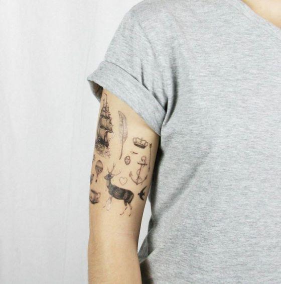 Pepper Ink tattoo éphémères interview talented girls-