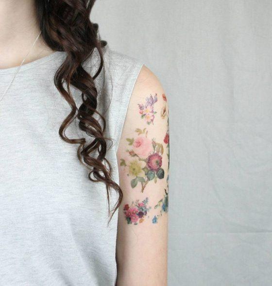 Pepper Ink tattoo éphémères interview talented girls