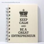 Talented Girls cadeaux de noel carnet entrepreneur