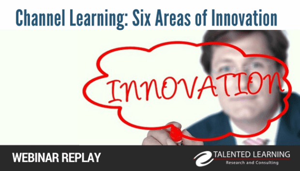 Channel learning technology - six areas of LMS innovation - webinar