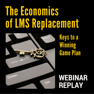 Do you need to replace your LMS? Learning tech analyst John Leh explains how to calculate costs and benefits in this webinar replay