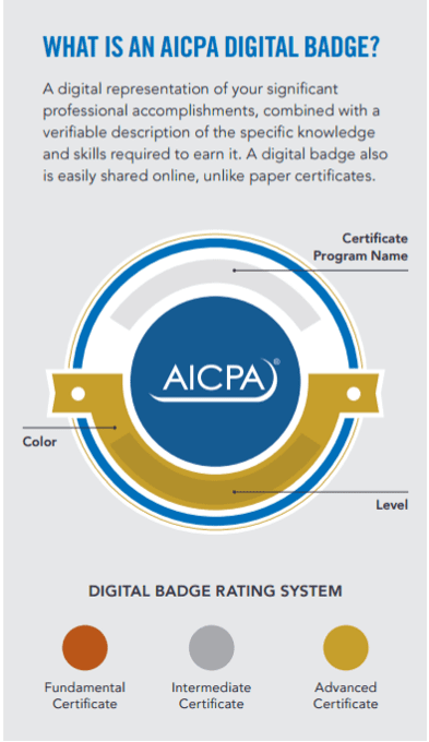 AICPA Digital Badge