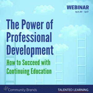Join live webinar: The Power of Professional Development - How Associations Can Succeed with Continuing Education