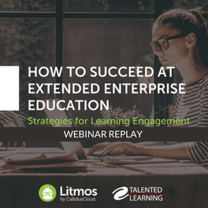 Webinar: How to Succeed at Extended Enterprise Education - with independent LMS analyst John Leh
