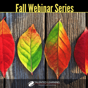 LMS Success - Fall Webinar Series featuring John Leh Lead Analyst Talented Learning, Sep-Nov 2017