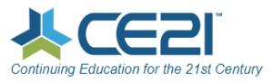 CE21 continuing education LMS