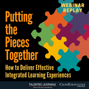 Free webinar - Putting the Pieces Together - Integrated Learning Experiences