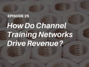 How do channel training networks drive revenue? Learn from extended enterprise learning analyst John Leh and his guest Doug Gastich, President of BlueVolt, on The Talented Learning Show