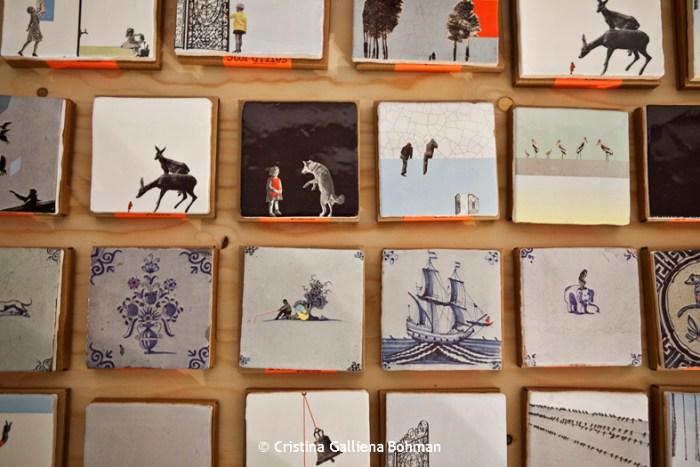 Storytiles patchwork @ Cristina Galliena Bohman