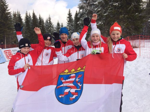 Bundessieger2016: Lennox Anders, Johannes Keudel, Linus Kesper, Ilva Kesper, Lotta Kesper und Georgy Langer