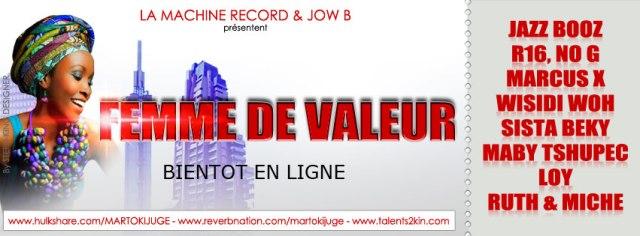 Prod. by Jow B & la machine record - Femme de Valeur