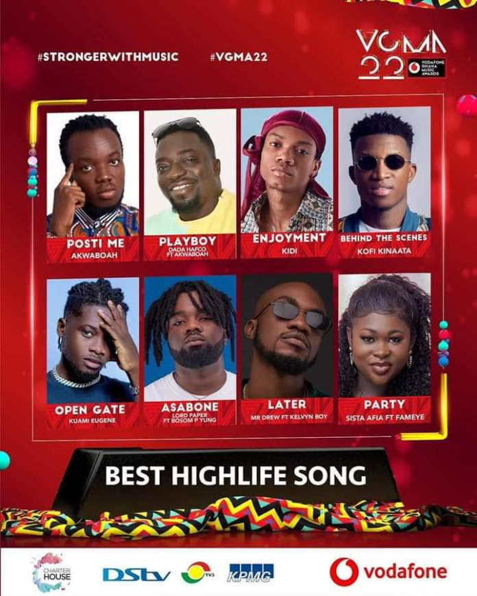 FB IMG 1617450377596 Final List Of Nominees For VGMA 2021- 22nd Edition