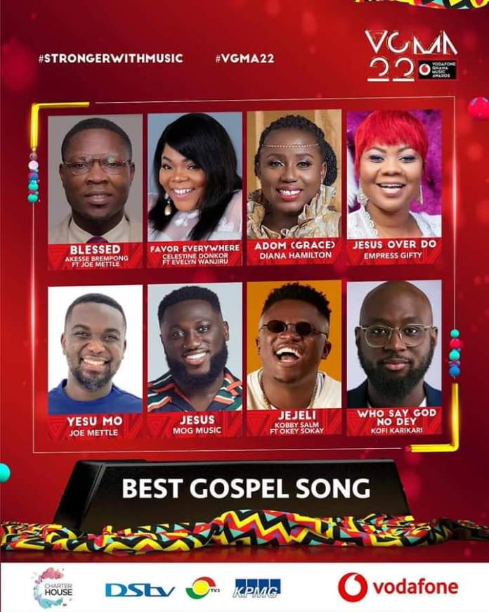 FB IMG 1617450381841 Final List Of Nominees For VGMA 2021- 22nd Edition