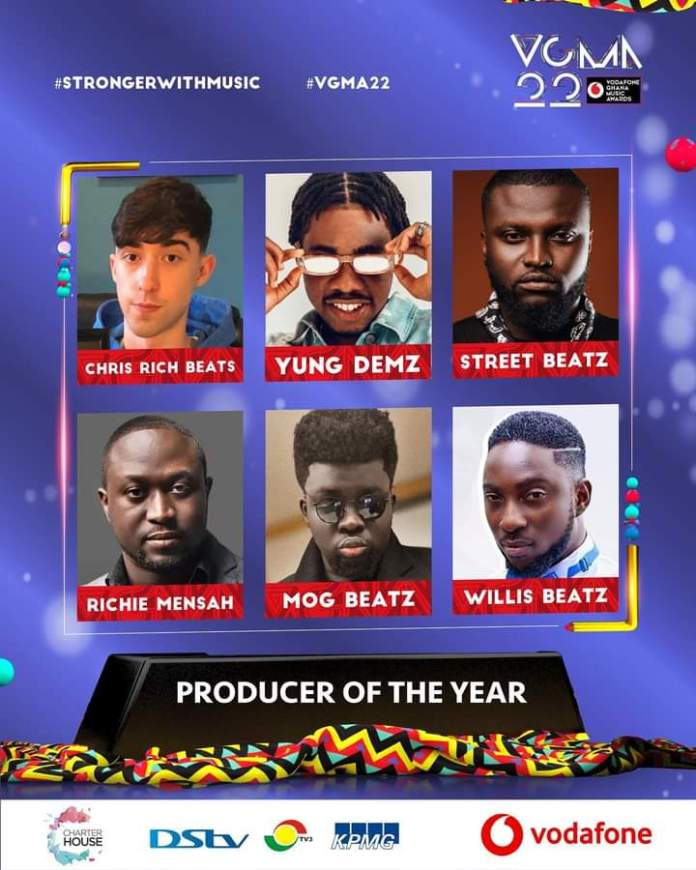 FB IMG 1617461079181 Final List Of Nominees For VGMA 2021- 22nd Edition