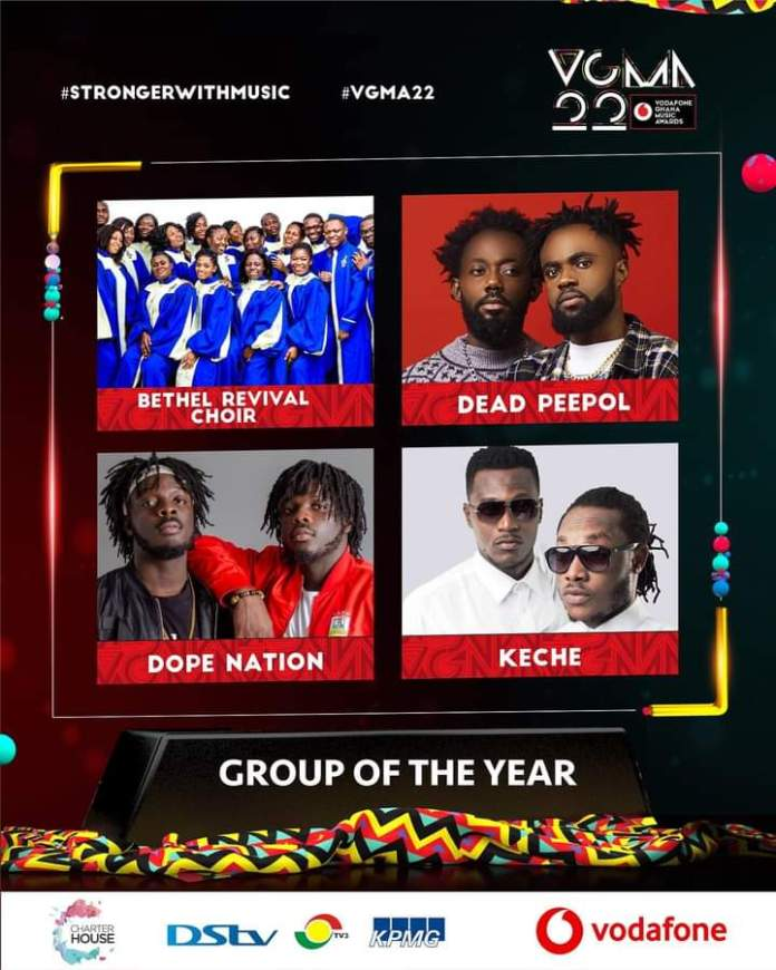 FB IMG 1617469047305 Final List Of Nominees For VGMA 2021- 22nd Edition