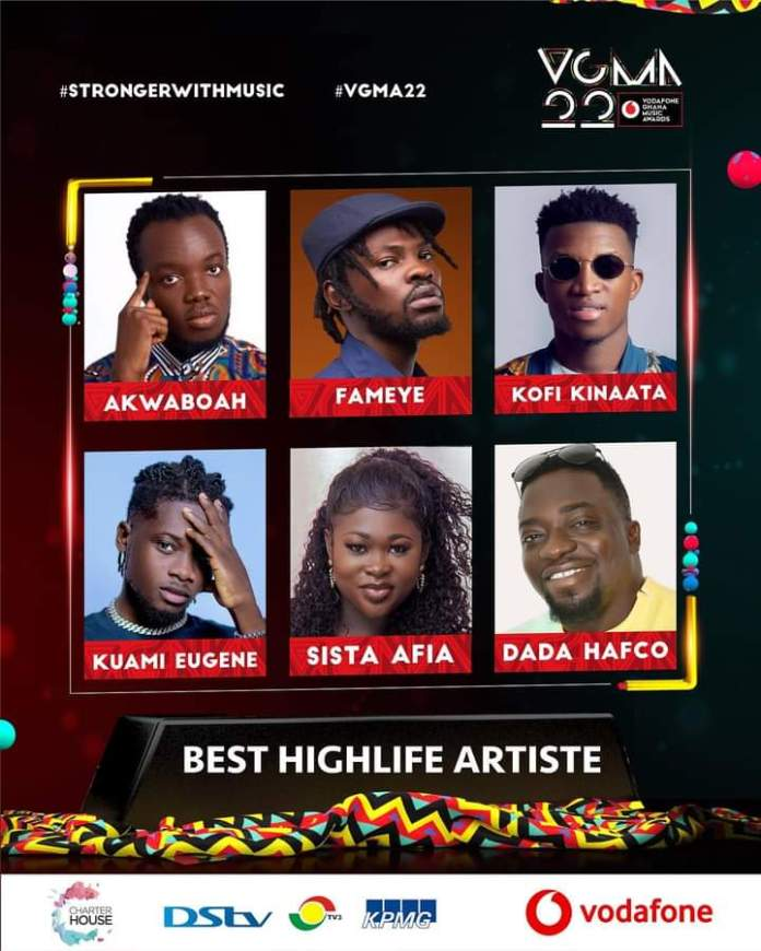FB IMG 1617483414283 Final List Of Nominees For VGMA 2021- 22nd Edition