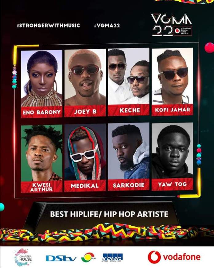 FB IMG 1617483438344 Final List Of Nominees For VGMA 2021- 22nd Edition