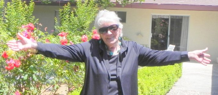 Betty in Garden