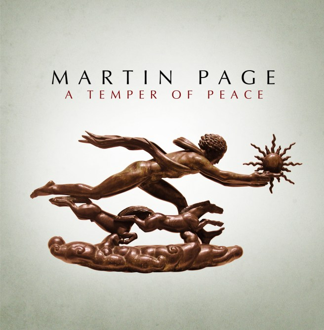 A Temper of Peace album cover Martin Page