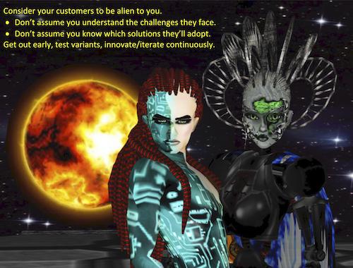 Aliens as Customers