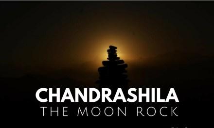 On top of the world at Chandrashila – the Moon Rock