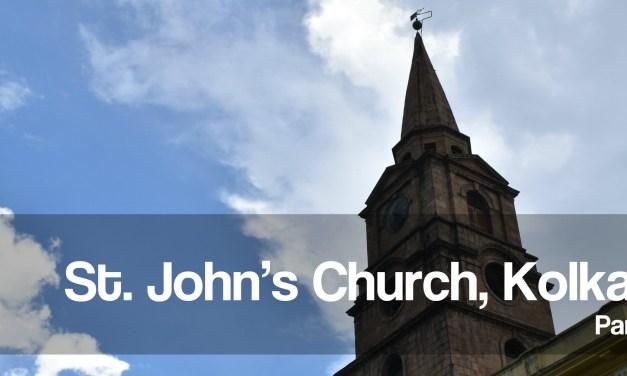 St. John's Church Kolkata – roaming around the lawn