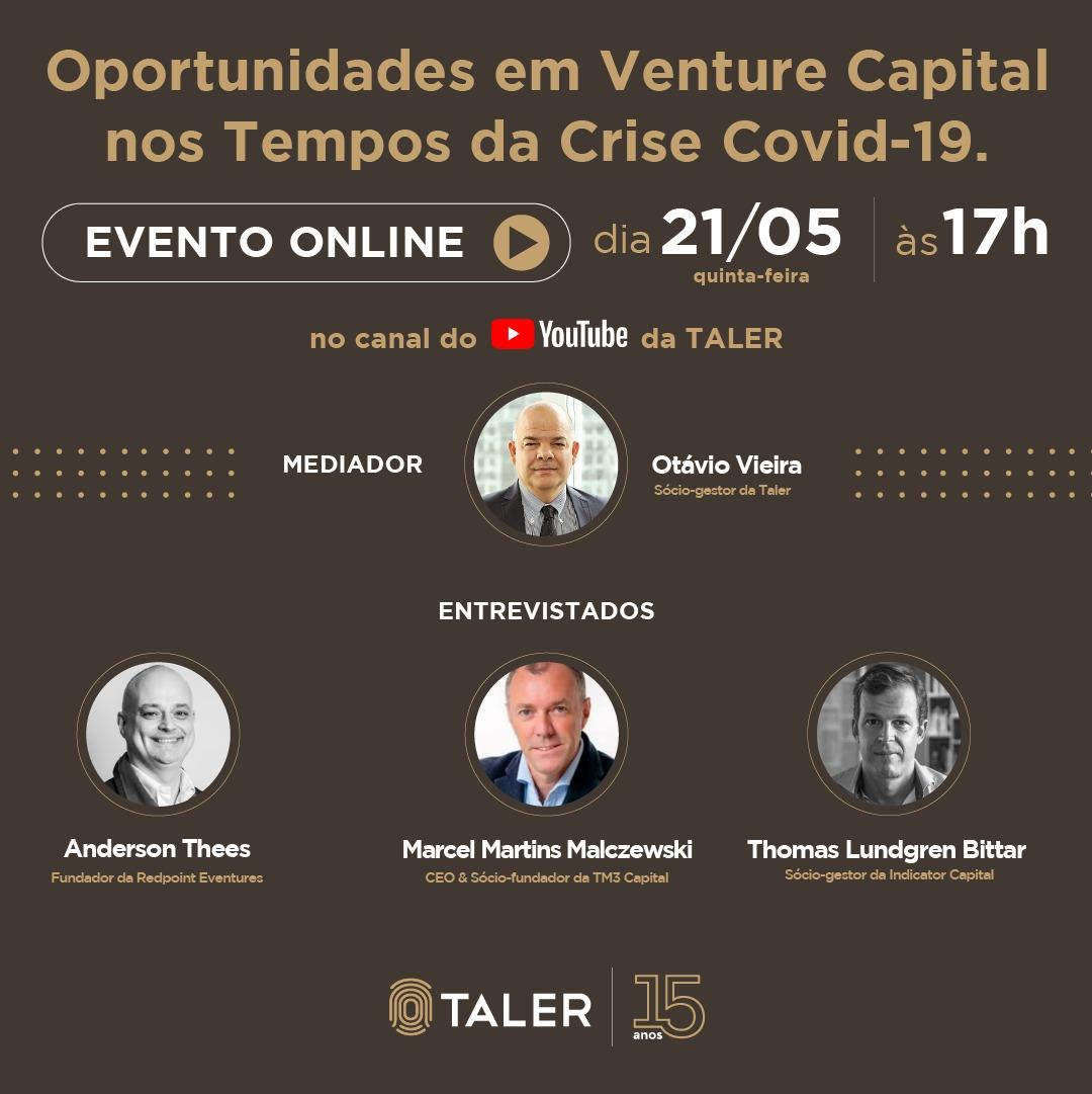 Oportunidades em Venture Capital nos Tempos da Crise Covid-19